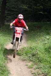 My friend on his motocross by apo-25