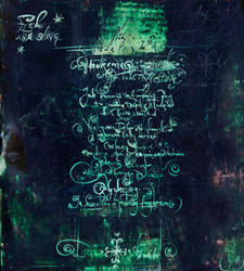 Malachite Letter by Versatis