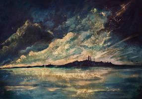 The Golden Lake by Versatis