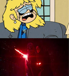 Lori Loud Crying due to Han's death by YangIsCool