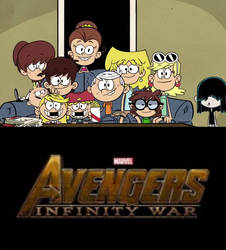 Loud House Ready for Infinity War by YangIsCool
