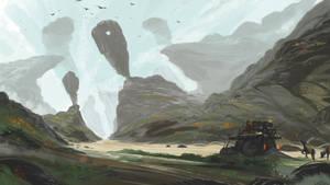 Snail Merchant En Route! by Effett