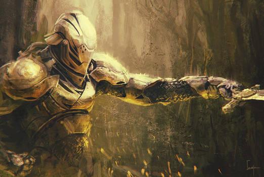 Armor Pose by Apostolon-IAM