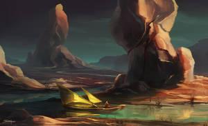 Wandering River by Apostolon-IAM