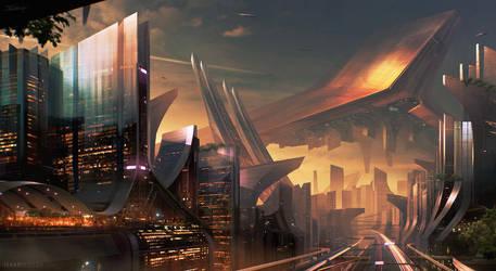 Earthscrapers by Apostolon-IAM