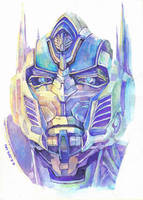 protrait_Optimus Prime by hosanna9