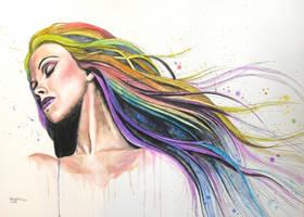 RAIMBOW GIRL by ericadalmaso