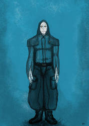 White Cyborg by Odjinn
