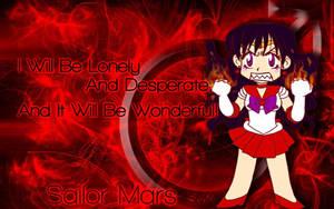 SMA - Sailor Mars by EssJay89