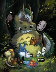Ghibli Time by Rockman0