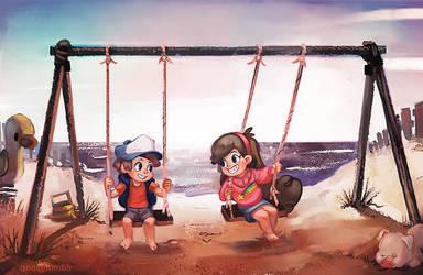 The Swings by Rockman0