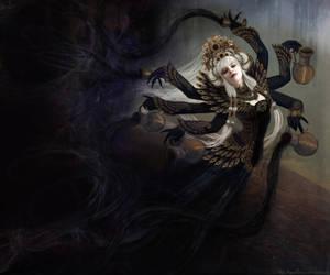 Goddess of the Endless Void by Razvan-Sedekiah