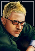 Portrait Chester Bennington by TheNekoboi