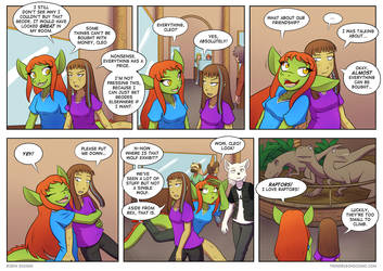 Twin Dragons page 172: Raptor Room by TheNekoboi