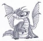 Mutant Neopets - Scorchio by pettamapossum