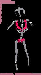 Free Pose: Anxious heroine by nekoni