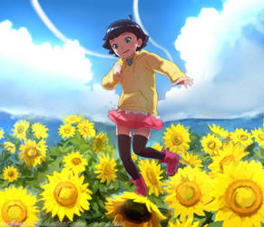 Himawari Jump! by nekoni
