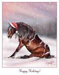 Damn Christmas cap by SheWolff