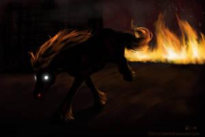 Speedpaint 4 - Rage by SheWolff