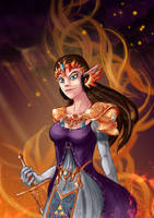 Princess Zelda by Gotetho