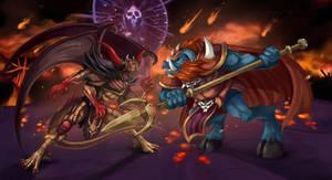 Ganon VS Chaos by Gotetho