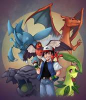 Pokemon Trainer Ash by Gotetho