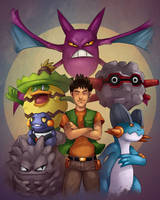 Pokemon Trainer Brock by Gotetho