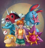 Pokemon Trainer Misty by Gotetho