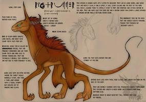 R-eD: Riotrunner Species by Arborpunk