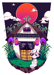 Hanamichi by shionin