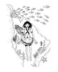 Ocean dream  by samiarte