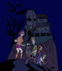 Scooby-Doo Where are You? by samiarte