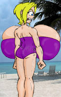 Rhonda at the Beach by havent-slept