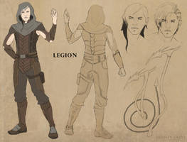 Legion - Character Design by TrinityCrest