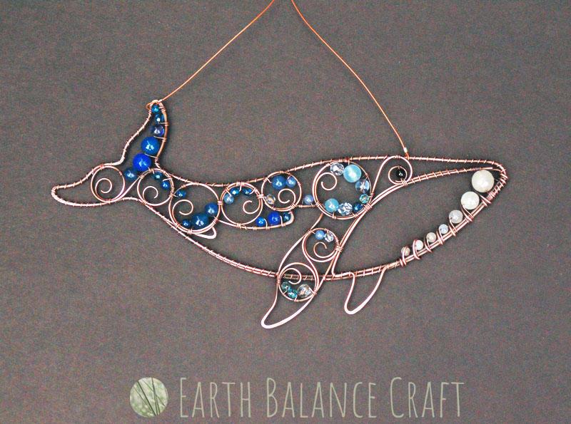 Blue Whale Suncatcher by EarthBalanceCraft