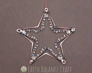 Star Suncatcher by EarthBalanceCraft