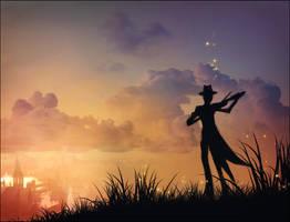 sunset music by hongryu