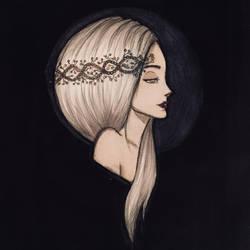 Moon princess  by Silberstreif1905