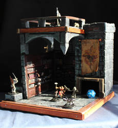The Library of Pelor Dice Tower by thirtythr33degrees