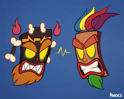 The Aku Uka Brothers by Anioco