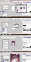MangaStudio Tutorial: Applying Colored Screen Tone by airibbon