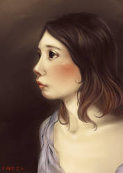 Self portrait 2018 by airibbon