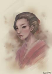 Commission: Sakura by airibbon