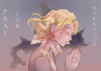 Pray For Hokkaido by airibbon