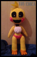 Crochet Toy Chica Plushie (Old) by KittysoftPaws-o3