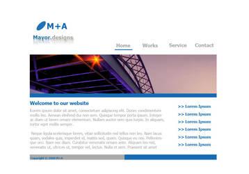 My first webdesign by la-web