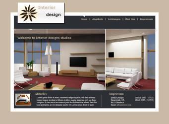 Interior Design Template by la-web