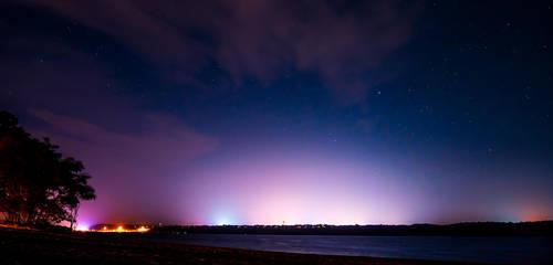 Hudson At Night by NJM1112