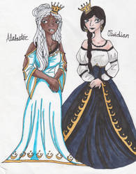 Alabaster + Obsidian by MagicisLove