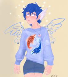 Angel boy by MagicisLove